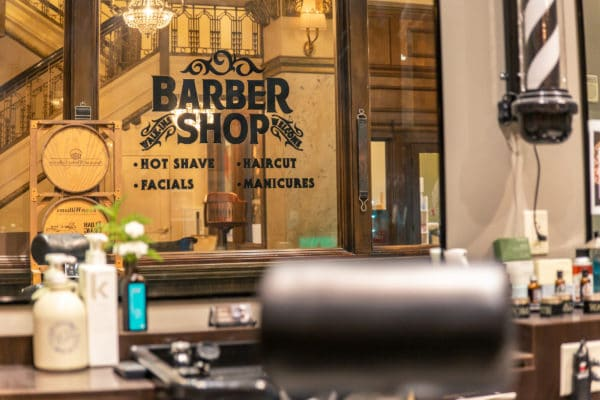 Barber Shop at Hotel Blackhawk