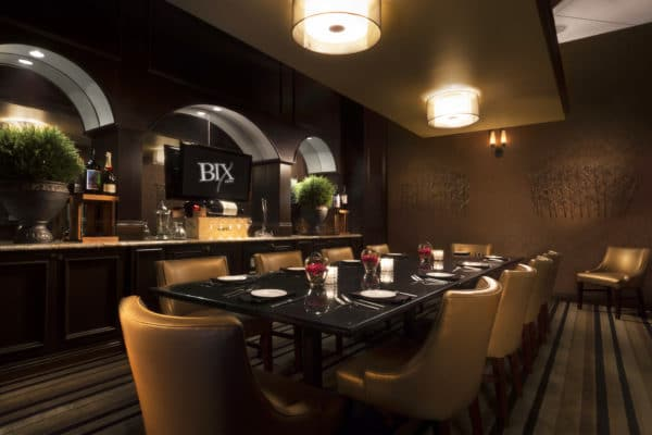 Bix Bistro Private Dining Room